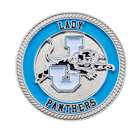 Lady Panthers School Challenge Coin
