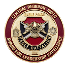 Central Regional JROTC challenge coin