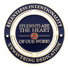students are the heart Challenge Coin