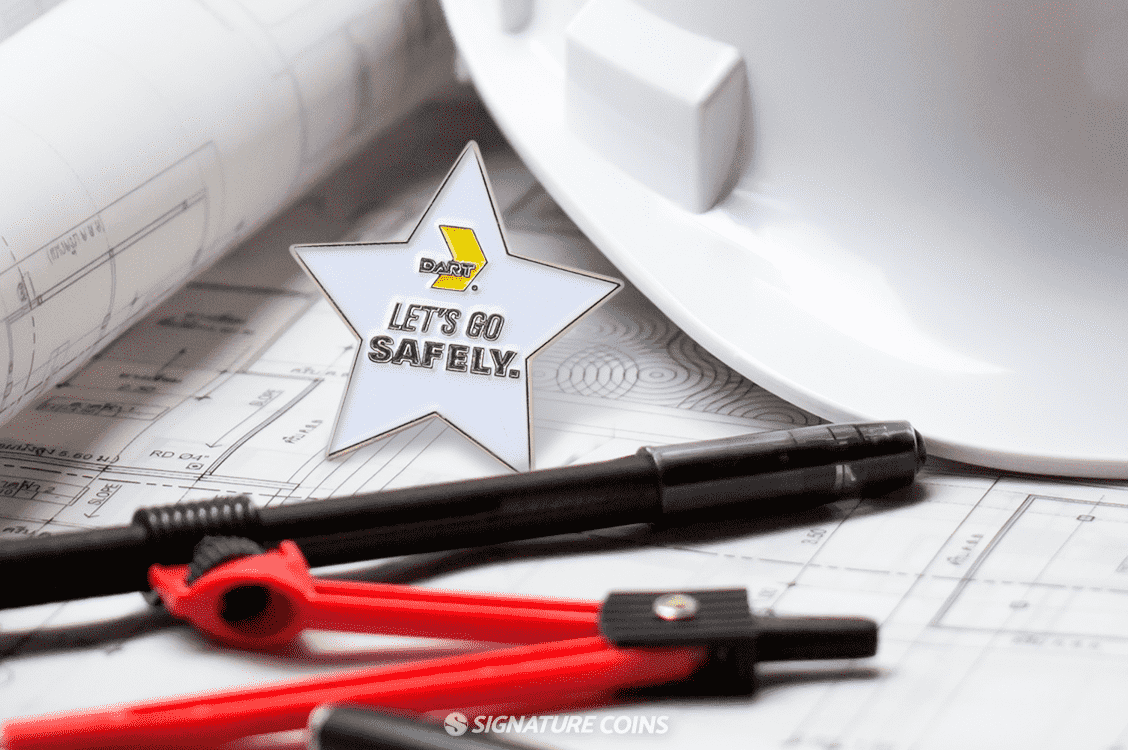 Safety Award Pins