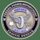 Fresno California Police Challenge Coin Back