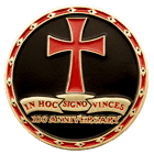 Cumberland Commandery Christian Challenge Coin back