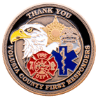 National Day of Prayer Challenge Coin back