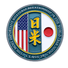 Japan Challenge Coin front
