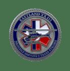 EMS Air Evacuation Life team Challenge Coin back