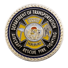 DOT Aircraft Rescue Challenge Coin Front