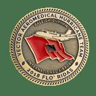Vector Aeromedical Challenge Coin back