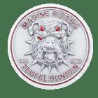 Marine Riders challenge coin