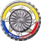Fuerza Aerea Colombiana Challenge coin Spinner