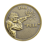 Rod and Gun Club Challenge Coin back