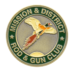 Rod and Gun Club Challenge Coin front