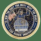 DMV Sports Challenge Coin back