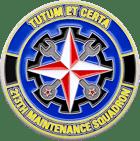 213 Maintenance Squadron Challenge Coin Front