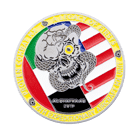 4th Expeditionary Aircraft challenge coin back
