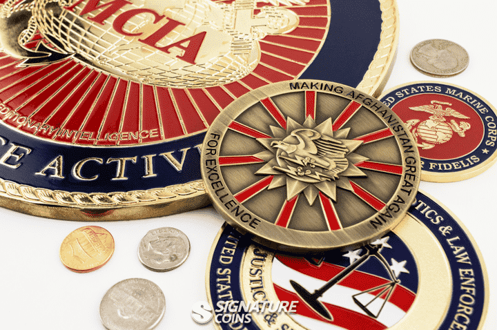 Oversized Challenge Coins