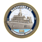 Maropsgru 5 HQ Challenge Coin 3D Front