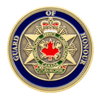 Guard of Honor Canada Challenge Coin Front