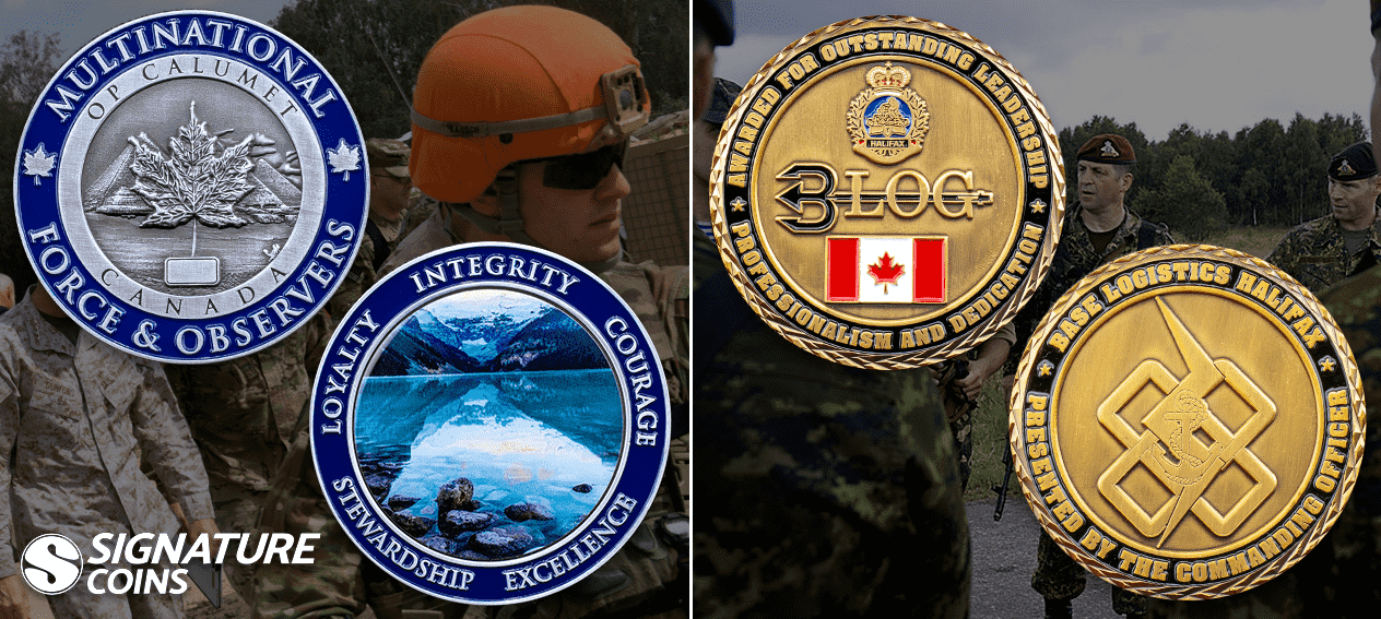 Canadian Armed Forces canada challenge coins