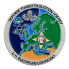 US European Command Challenge Coin Front