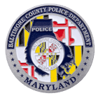 Baltimore County Police Challenge Coin Back