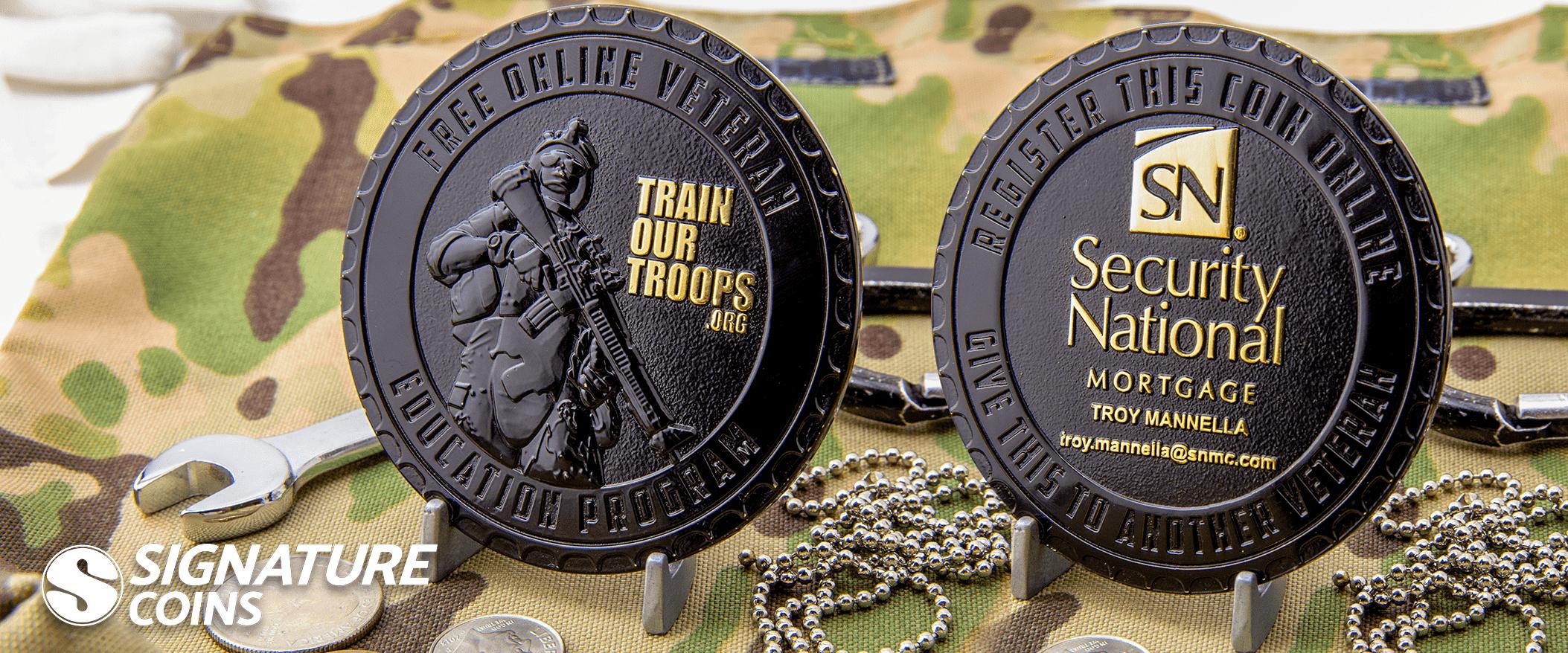 Best Custom Challenge Coin Maker - Signature Coins