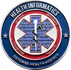 Defense Health Agency - Health Informatics Challenge Coin Front
