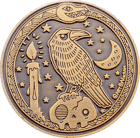 Lil Reaper Challenge Coin Back