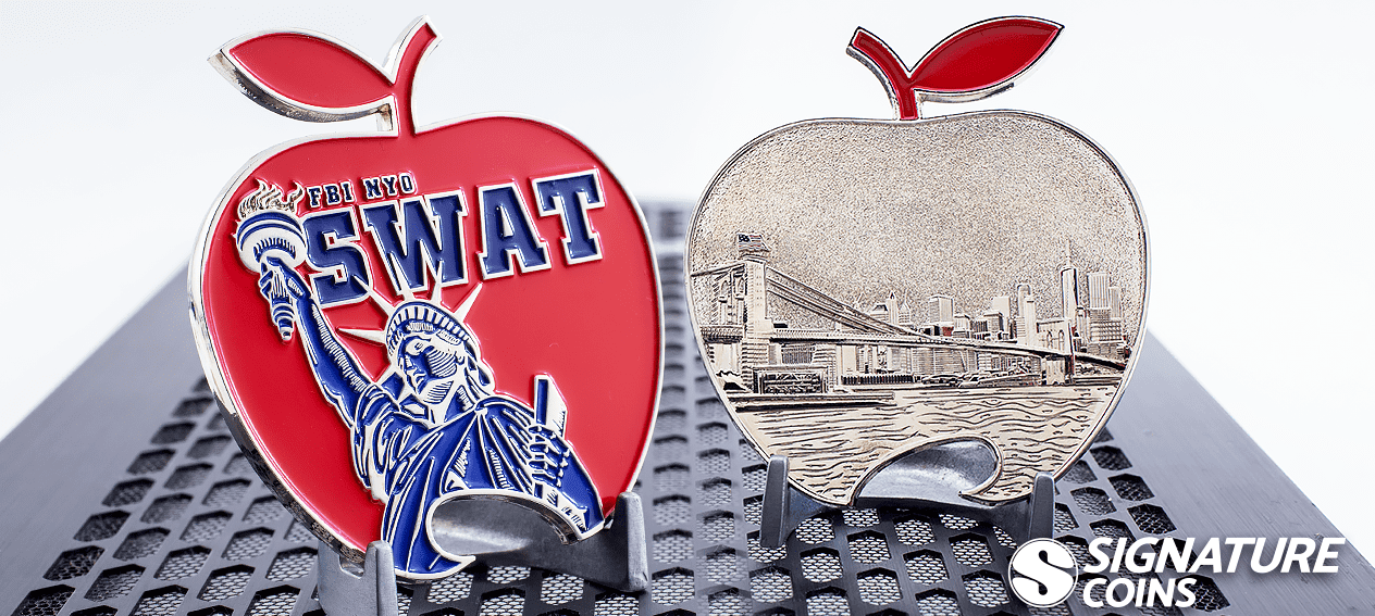 FBI NYC SWAT Challenge Coin bottle opener