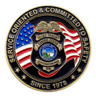 Metro Transit Control Center Challenge Coin Front