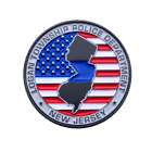 New Jersey Police Logan Challenge Coin back