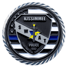 Kissimmee Police Department Challenge Coin Back
