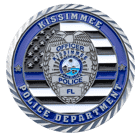 Kissimmee Police Department Challenge Coin Front
