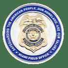 Homeland Security Florida Coin back