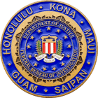FBI Hawaii Challenge Coin front