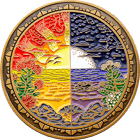 FBI Hawaii Challenge Coin back