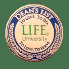 Deans List Copper Pin