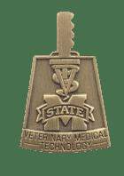 Veterinary School Technology Diestruck Pin