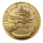 Bonefrog Legacy Group Challenge Coin front
