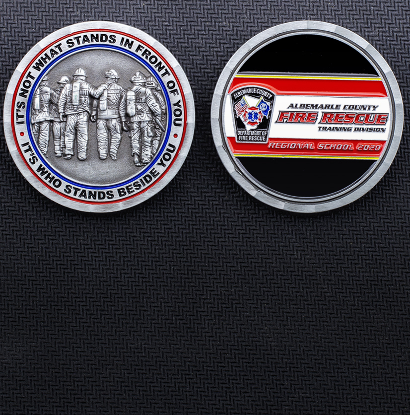 Firefighter Challenge Coins Mobile