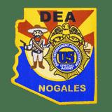 DEA Nogales Woven Patch