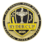 Ryder Cup Golf Challenge Coin front