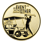 Ryder Cup Golf Challenge Coin back