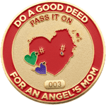 Pass It On Challenge Coin