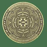 Irish on Ionia Event challenge coin back