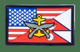 PVC military patch