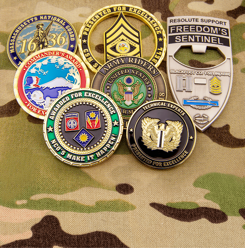 Custom Challenge Coins by Signature Coins
