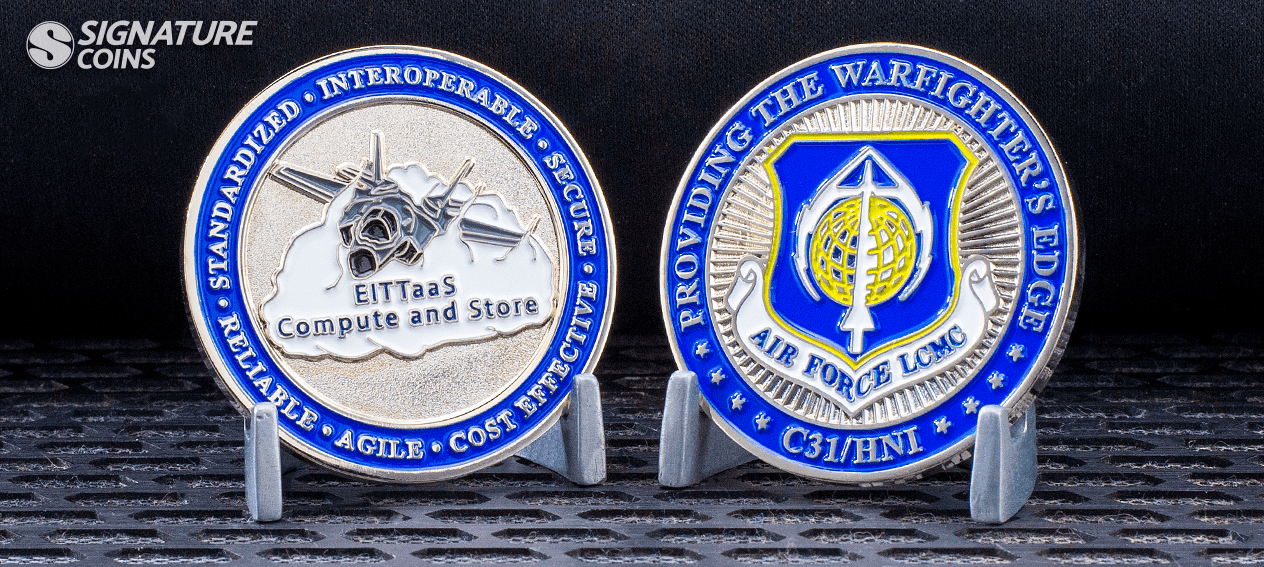 Air Force LCMC Challenge Coin
