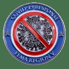 FEMA Covid Coin Front