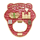 Strike to Kill Army Challenge Coin - Translucent Back