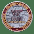Virginia Tech Police Coin